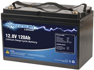 12.8V 120Ah Lithium Deep Cycle Battery