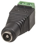 2.1mm DC Socket with Screw Terminals