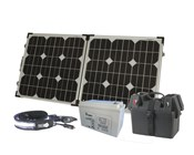 120W Outdoor Fold-up Solar Power Pack