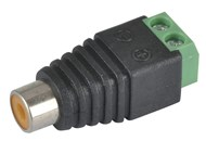 RCA Socket with Spring Terminals