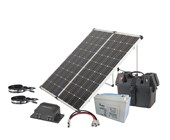 180W Outdoor Fold-up Solar Power Pack