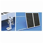 Solar Panel Rail End Clamp 35mm