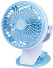 Mini Rechargeable Fan with Clamp Mount