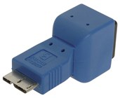 USB 3.0 Plug Micro B to Socket B Adaptor