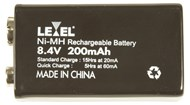 9 Volt 8.4V 200mAH Ni-MH Rechargeable Battery