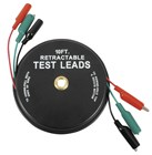 Retractable 3m Alligator Test Lead Set