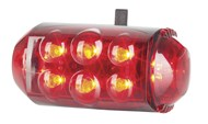 Super High Brightness LED Bike Safety Light