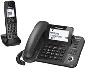 Panasonic Combination Corded/Cordless Telephone - Single Cordless