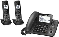 Panasonic Combination Corded/Cordless Telephone - Twin Cordless