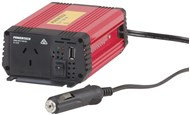 150W (450W Surge) 12VDC to 230VAC Inverter with USB