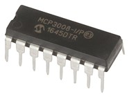 MCP3008 8 Channel 10 Bit ADC DIP 16