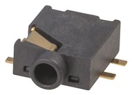 SMD 2.5MM SWITCHED Stereo Socket - Pk.10