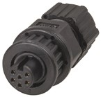 IP67 6 Pin Line Socket