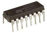 Integrated Circuit 4056 BCD to 7 Seg Decoder