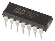 ISD1820 Record and Playback IC (DIP 14)
