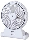 White Rechargeable Misting Fan