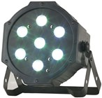 7 x 4W RGB LED Par Stage Light