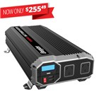 ENERGIZER 1500W 12VDC to 230VAC Modified Sine Wave Inverter