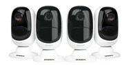 Uniden 1080p Battery Powered Quad Pack Wi-Fi Camera
