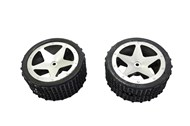 Pack of 2 Rear Tyres for GT3786 Buggy