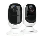 Uniden 1080p Battery Powered Twin Pack Wi-Fi Camera