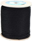 Black Polyester 3 Strand - 16mm 4000kg Breaking Strength