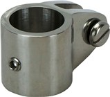 Canopy Tube Coupling Clamps - 316 S/Steel Suits 25mm Tube (With Grubscrew)