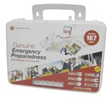 Emergency Preparedness First Aid Kit - 164 Pieces