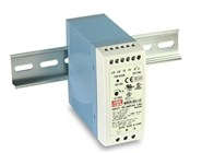 Meanwell 60W DIN Rail Mount Switchmode Power Supply 48VDC 1.25A