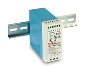Meanwell 40W DIN Rail Mount Switchmode Power Supply 12VDC 3.33A