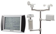 Touch Screen Wireless Weather Station with USB PC Link