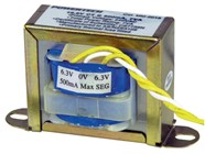 12.6V CT, 7VA 500mA Centre Tapped - Type 2853 Transformer