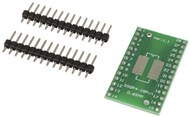 28 pin SOIC/SOP to DIP Breadboard Adaptor