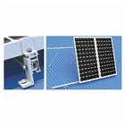 Solar Panel Rail Mid Clamp 35mm