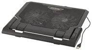 COOLING PAD NOTEBOOK DUAL FAN BLK
