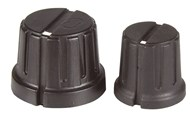 15mm Metric Knob - Black