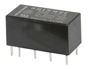 12V DIL Latching Mini Relay