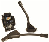 Gooseneck Windscreen/Cigarette Lighter GPS Mount