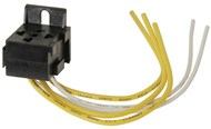 Interlocking Relay Socket with Leads