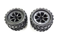 Pack of 2 Front Tyres for GT3788 Truck