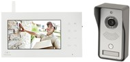 "2.4GHz Digital Wireless 7"" LCD Video Doorphone"