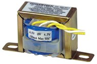 9V, 1.35VA 150mA Centre Tapped - Type 2840 Transformer
