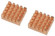 Copper Heatsink  for Raspberry Pi Pk. 2