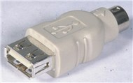 USB to PS2 Adaptor - USB-A Female to PS/2 Male