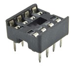 8 Pin Production (Low Cost) IC Socket