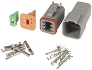 6-Way Weatherproof Deutsch Connector Set