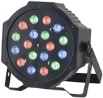 18 x 1W RGB LED Par Stage Light