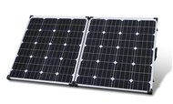 Powertech 12V 160W Folding Solar Panel with 5M Lead