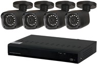 4 Channel 720p AHD DVR Kit with 4 x 720p Cameras