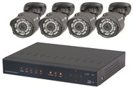 8 Channel 1080p DVR Kit with 4 x 1080p Cameras